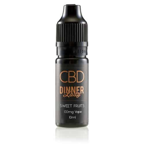 Dinner Lady CBD Sweet Fruits Bottle 10ml 100mg