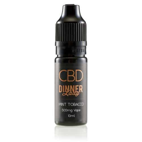 Dinner Lady CBD E-Liquid Mint Tobacco,10ml